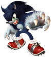 Art Sonic Werehog Unleashed