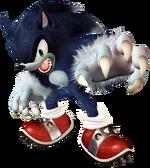 Art Sonic Werehog Unleashed