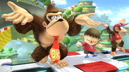 Félicitations Donkey Kong U Classique