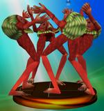 Trophée Quatre géants Melee