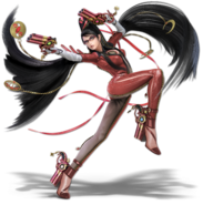 Art Bayonetta rouge Ultimate