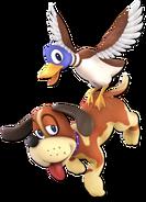 Art Duo Duck Hunt brun foncé Ultimate
