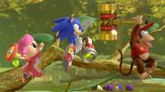 Défis Ultimate Tableau Sonic