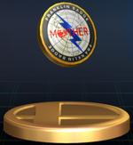 Trophée Badge Franklin Brawl