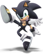 Art Sonic noir Ultimate