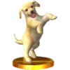 Trophée Golden retriever 3DS
