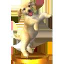 Trophée Golden retriever 3DS