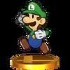 Trophée Paper Luigi 3DS