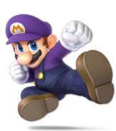 Art Mario violet Ultimate