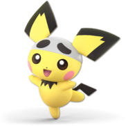 Art Pichu blanc Ultimate