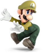 Art Luigi jaune Ultimate