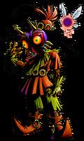 Art Skull Kid Majora