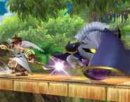 Meta Knight attaques Brawl 7