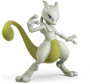 Art Mewtwo jaune Ultimate