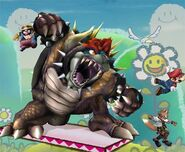 Bowser Smash final Brawl 2