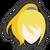 Icône Samus sans armure bleu 2 Ultimate