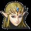 Icône Zelda violet U