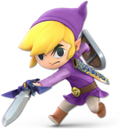 Art Link Cartoon violet Ultimate