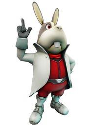 Artwork Peppy Hare Star Fox 64 3D