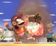 Diddy Kong attaques Brawl 2