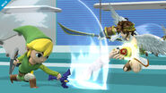 Link Cartoon SSB4 Profil 3