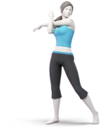 Art Entraîneuse Wii Fit Ultimate