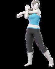 Art Entraîneuse Wii Fit Ultimate