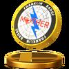 Trophée Badge Franklin U