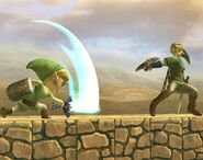 Link Cartoon attaques Brawl 2