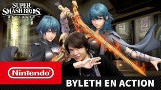 Super Smash Bros. Ultimate - Byleth en action (Nintendo Switch)