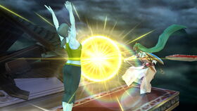 Smash Bros U Wii Fit Trainer Praises the Sun