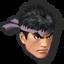 Icône Ryu orange U