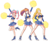 Art Pom-pom girls Ouendan 2