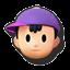 Icône Ness violet U