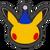 Icône Pikachu bleu Ultimate