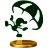 Trophée Mr Game & Watch alt U