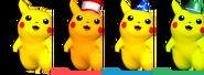 Couleurs Pikachu Melee