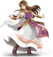 Art Zelda violet Ultimate