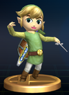 Trophée Link Cartoon Brawl