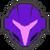 Icône Samus sombre violet Ultimate