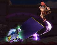 Meta Knight Smash final Brawl 1
