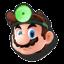 Icône Dr. Mario vert U