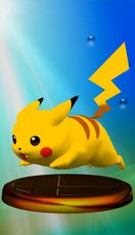 Trophée Pikachu SSBM Rose