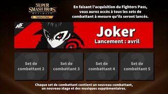 Super Smash Bros. Ultimate trailer Fighters Pass Joker Avril