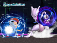 Félicitations Mewtwo Melee All-Star