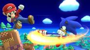 Mario Sonic WindyHillZone