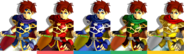 Couleurs Roy Melee