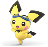 Art Pichu bleu Ultimate