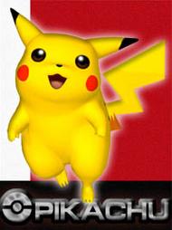 Artwork Pikachu SSBM