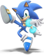 Art Sonic bleu Ultimate